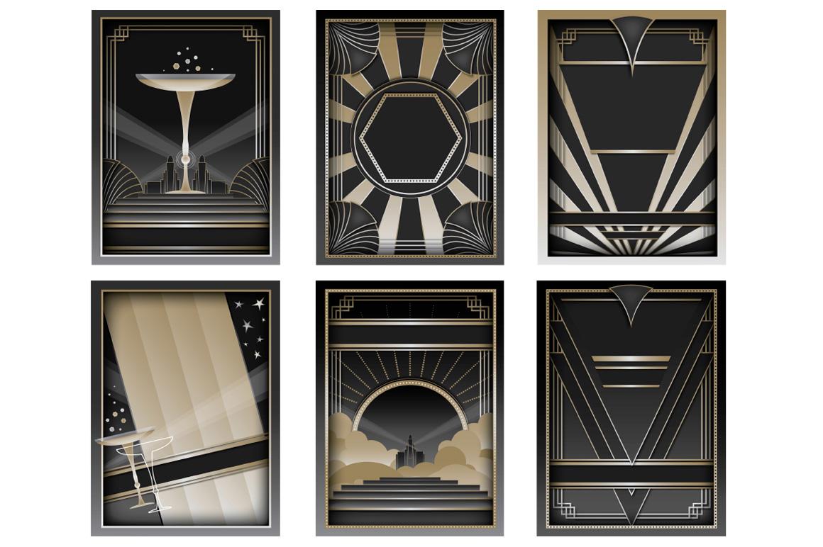 15 art deco graphic art backgrounds images art deco for Deco graphic