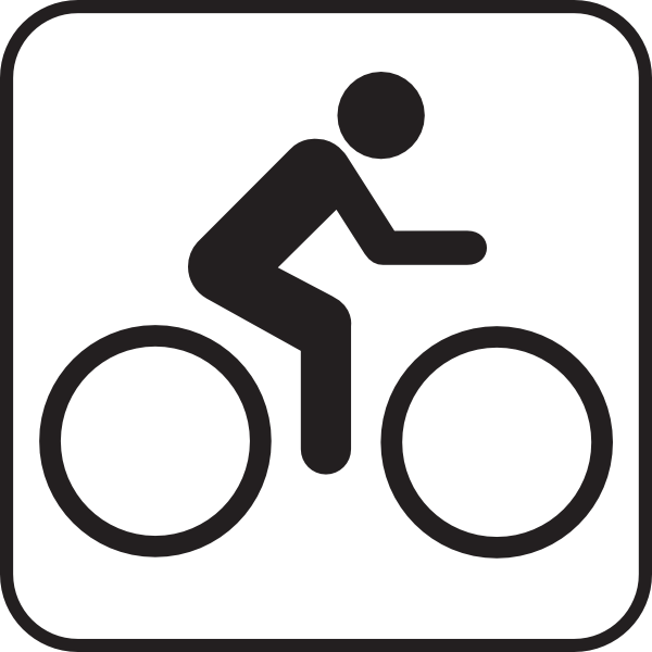 12 Bike Symbol Vector Images