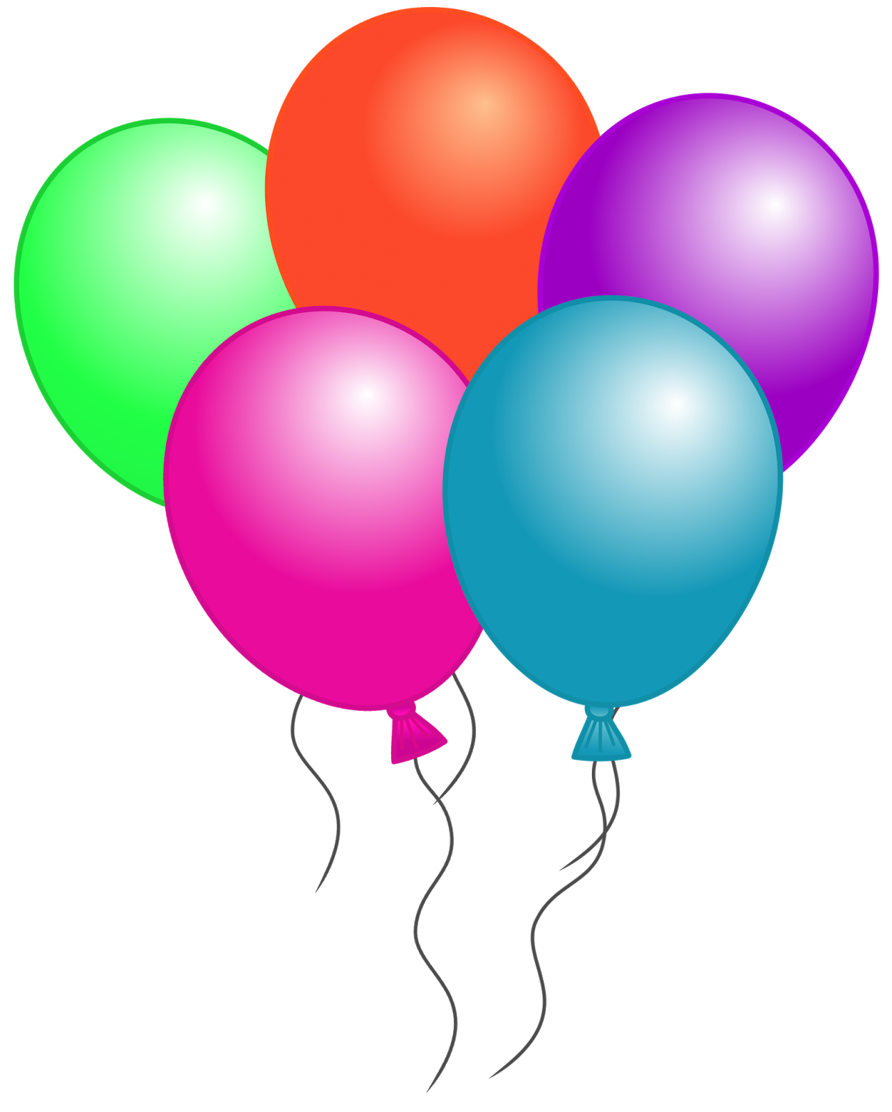 17 Free Birthday Balloon Graphics Images