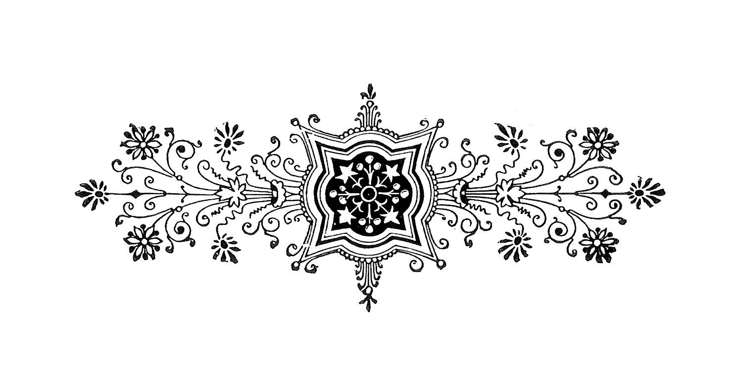 Black and White Decorative Design