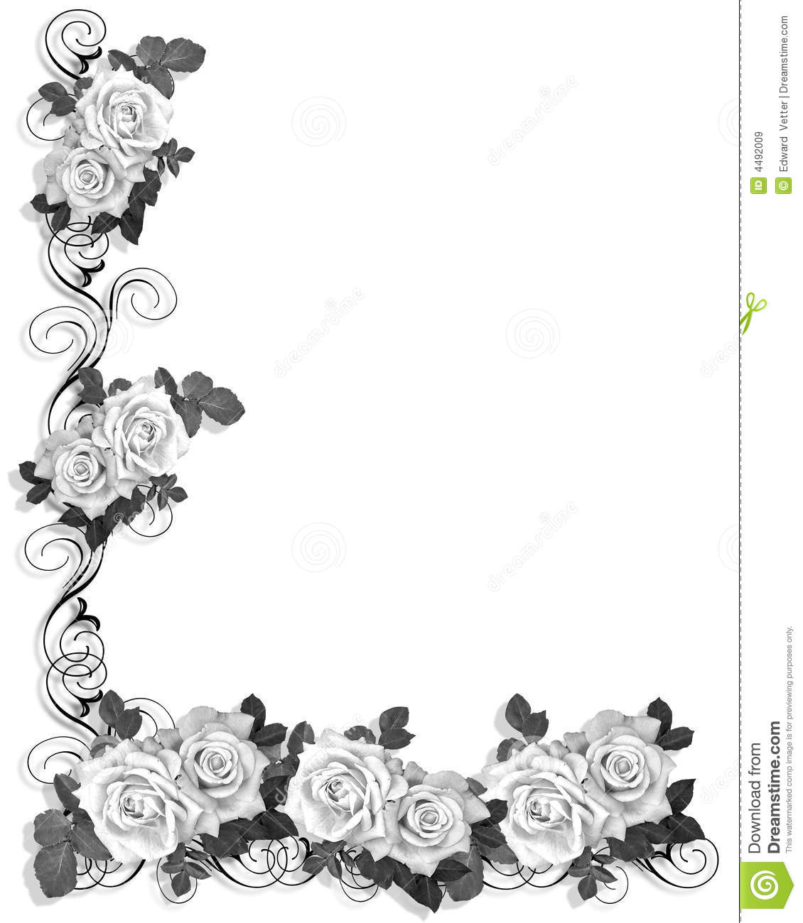 14 black and white border designs images black and white
