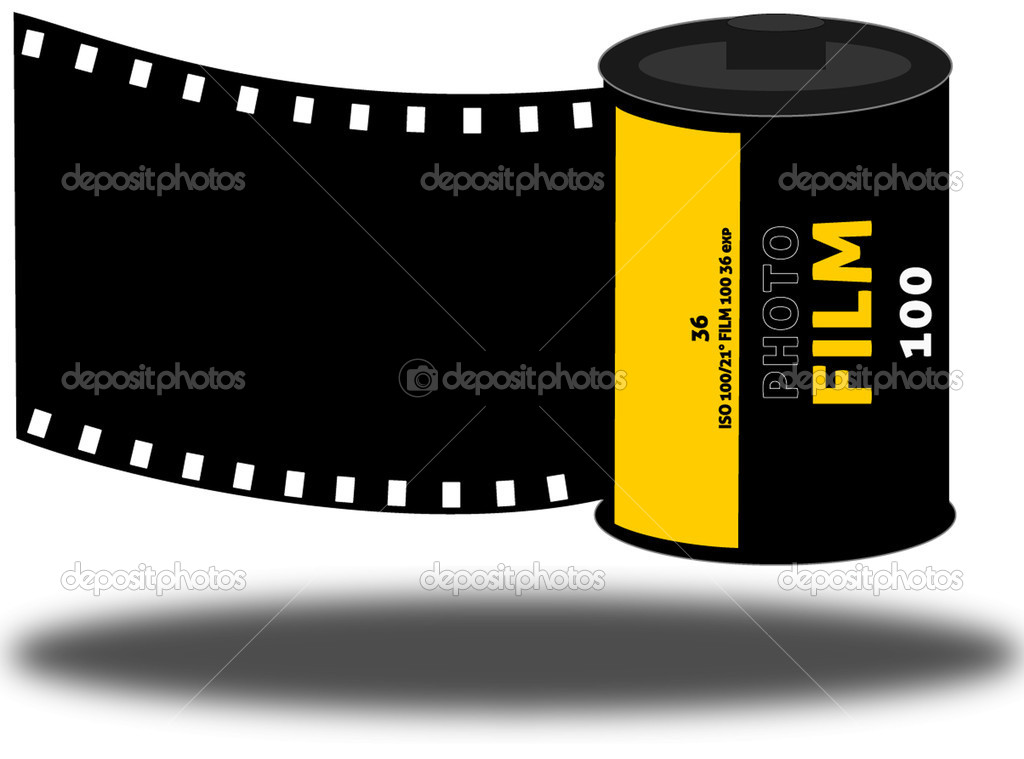8 Film Roll Vector Images