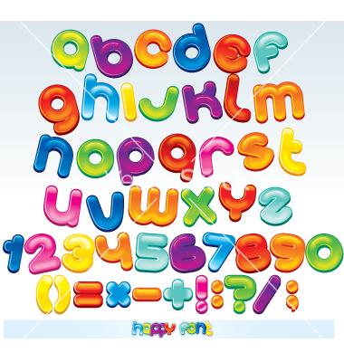 Cartoon Letter Fonts