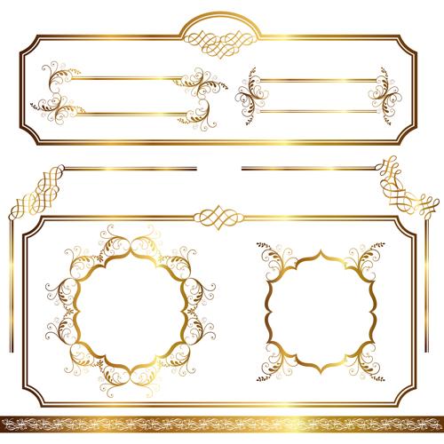 Christmas Frame Ornament Vector