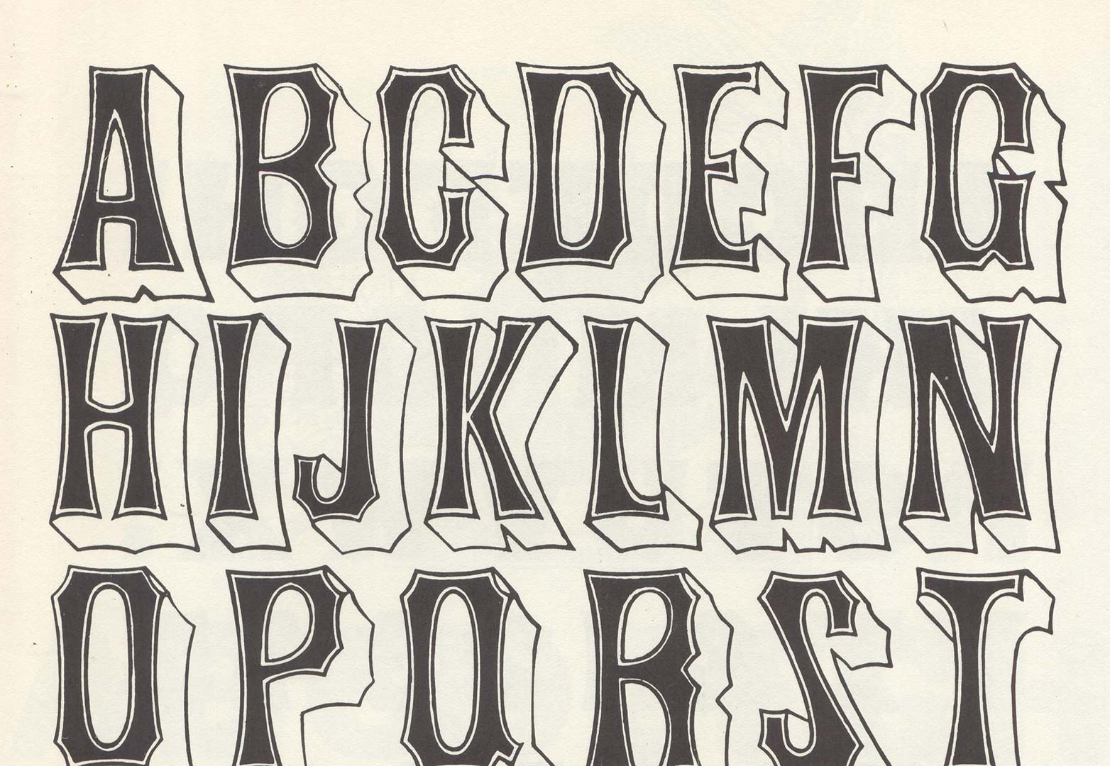 11 Unique Font Styles Images - Creative Font Styles, Font ...  Creative Lettering Styles