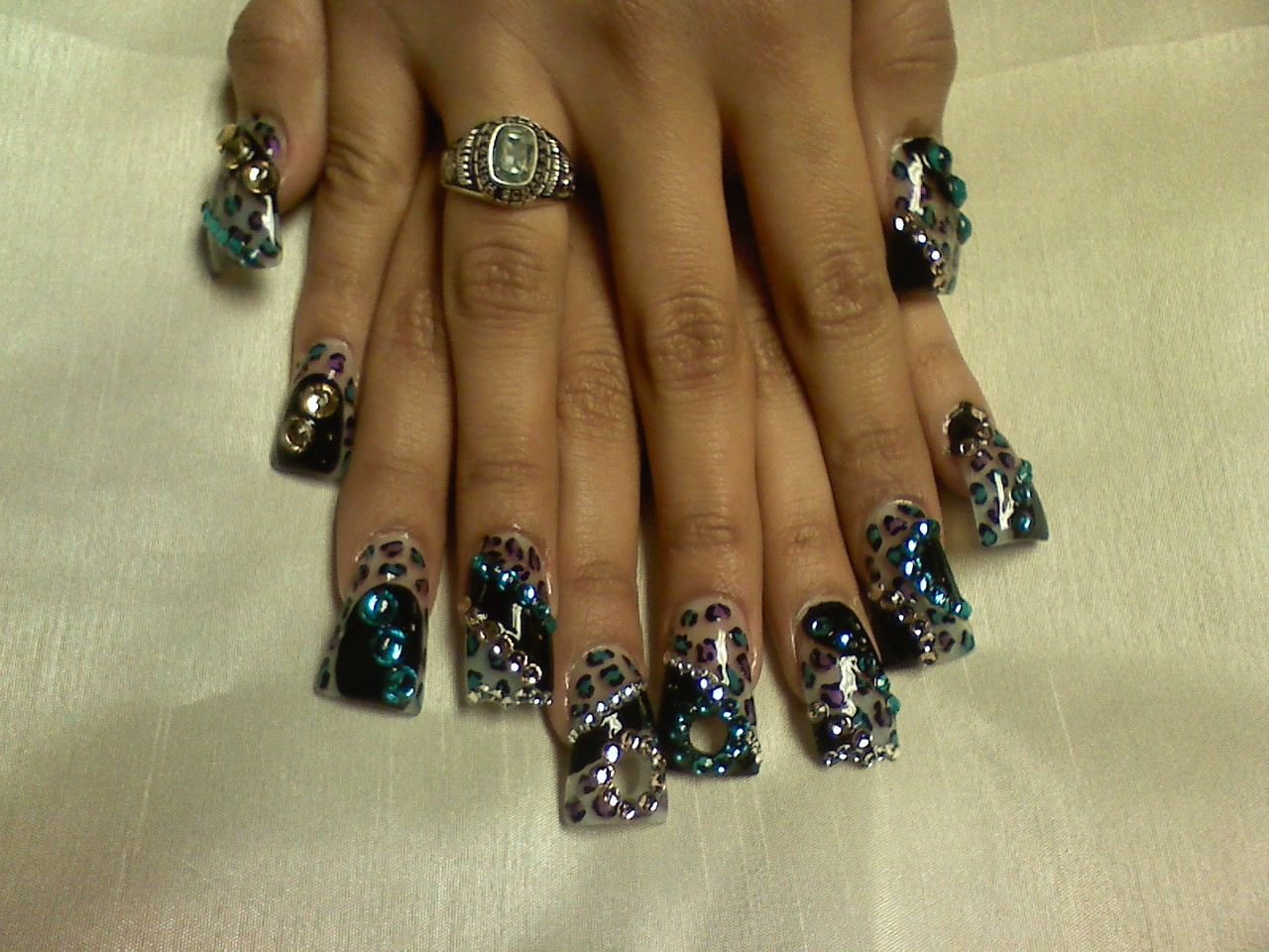 10 Wild And Crazy Nail Designs Images