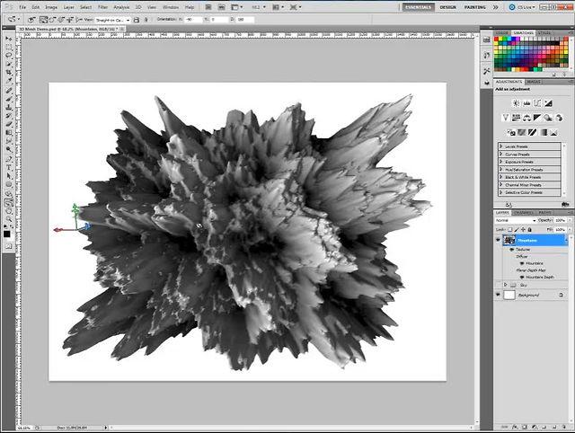 5 Photoshop 3D Shapes Images