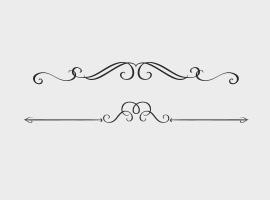 Decorative Text Divider Vector Free
