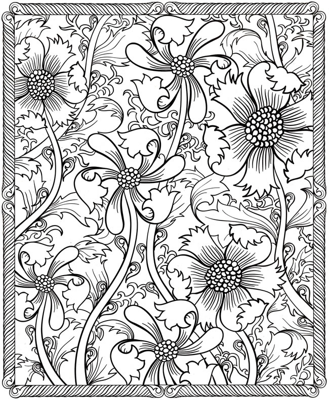 Dover Adult Coloring Pages
