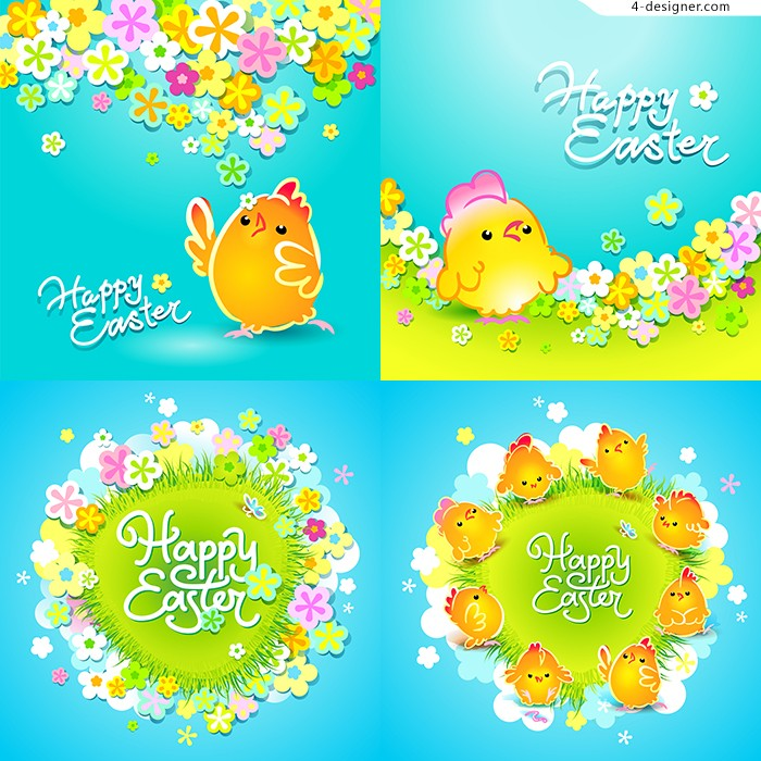 Easter Flower Vector