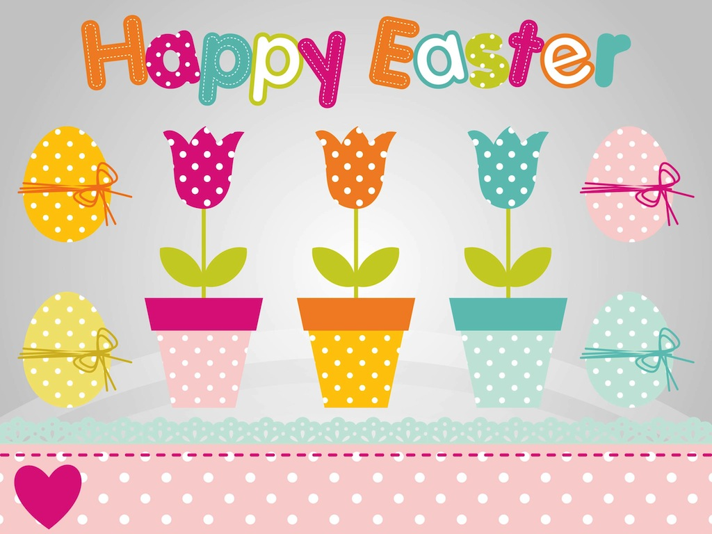 Easter Flowers Graphics Free