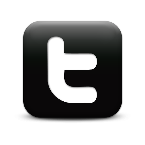 11 Black And White Twitter Logo Vector Images