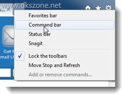 Favorites Toolbar Missing Internet Explorer
