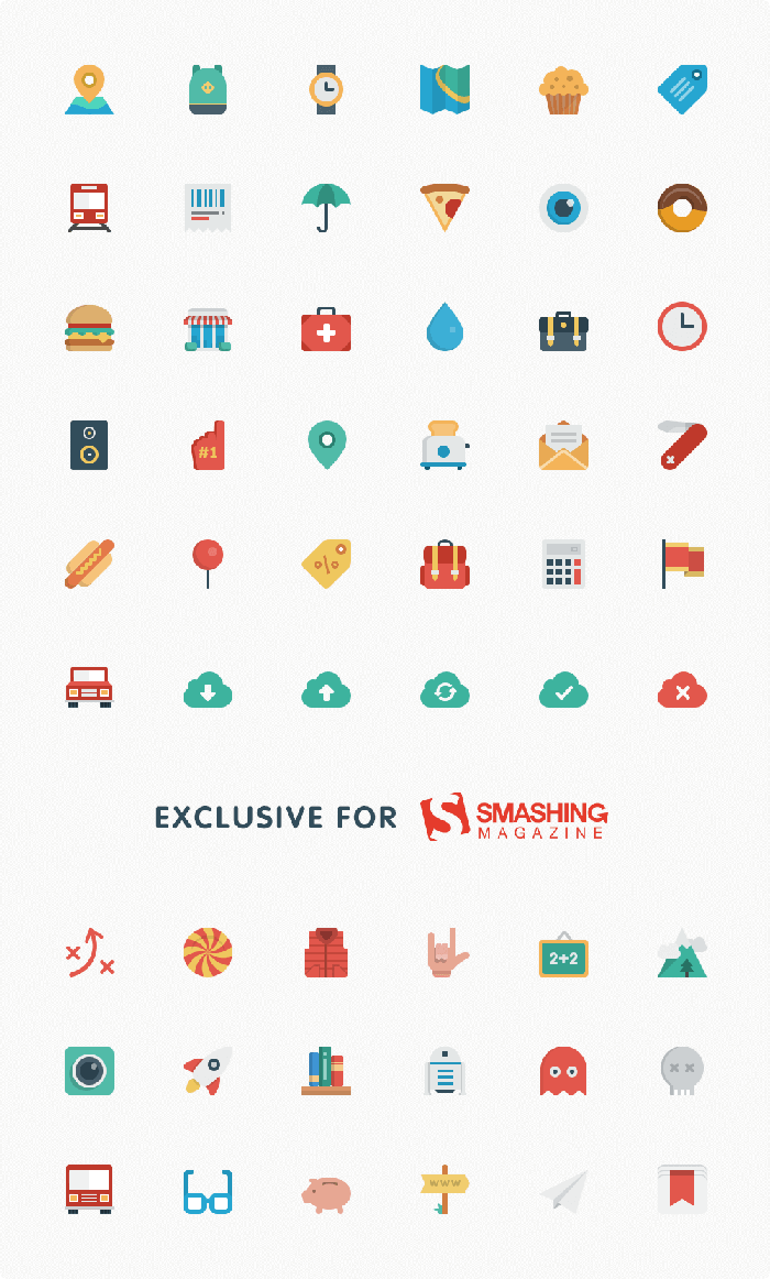 Free Business Icons Set Flat