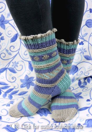 17 Striped Socks Template Images Sock Coloring Page