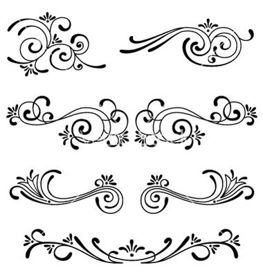 Free Ornaments Vector Graphics