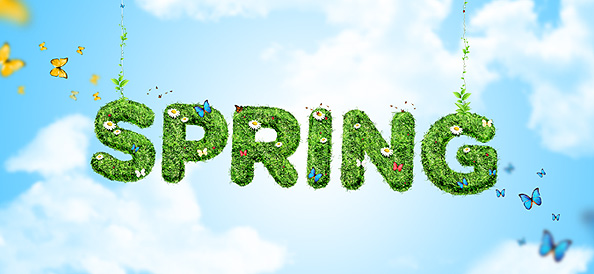 15 Spring Background Psd Images