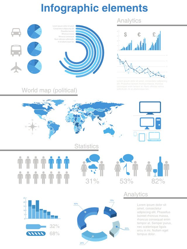 19 Free Vector Infographic Design Images