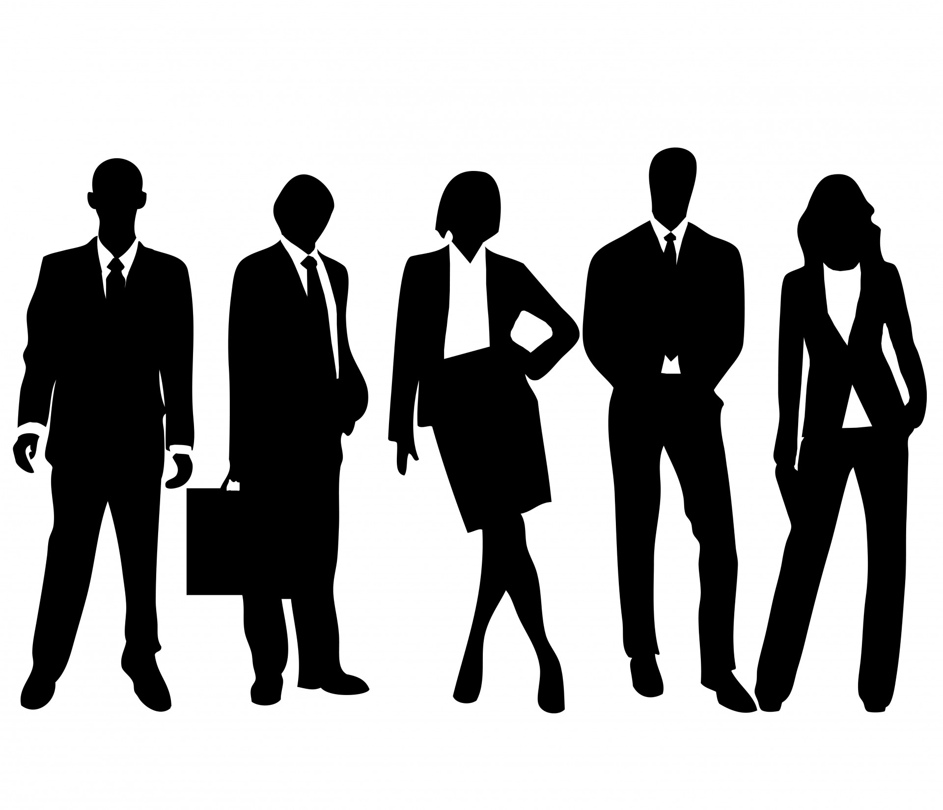 Group of Business People Silhouette