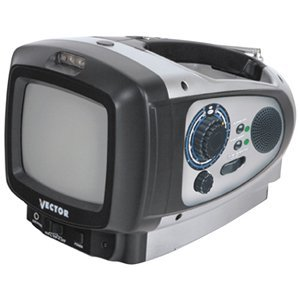 8 Vector Emergency Radio TV Images