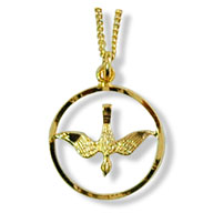 Holy Spirit Dove Pendant