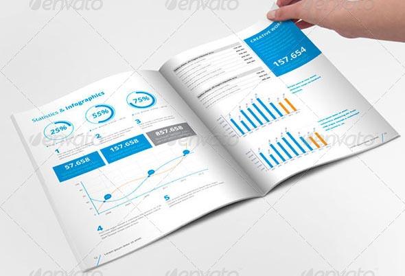17 Annual Report Design Templates Images - Free Annual Report Design ...