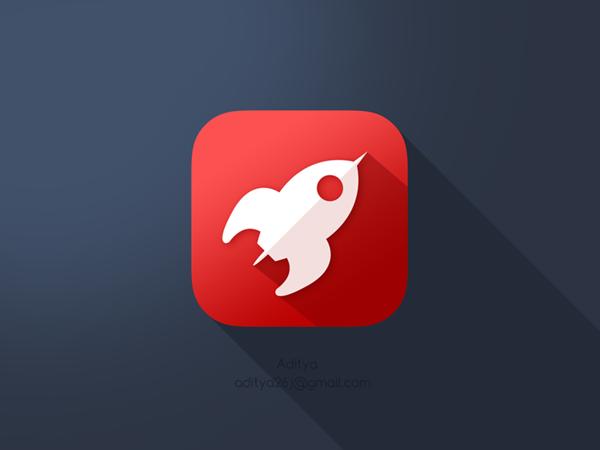 iOS Flat App Icons