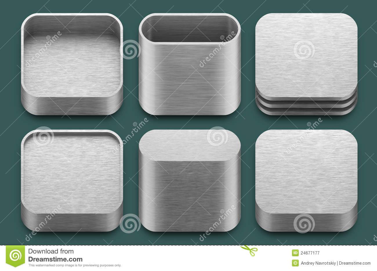 8 IPad Blank App Icon Images