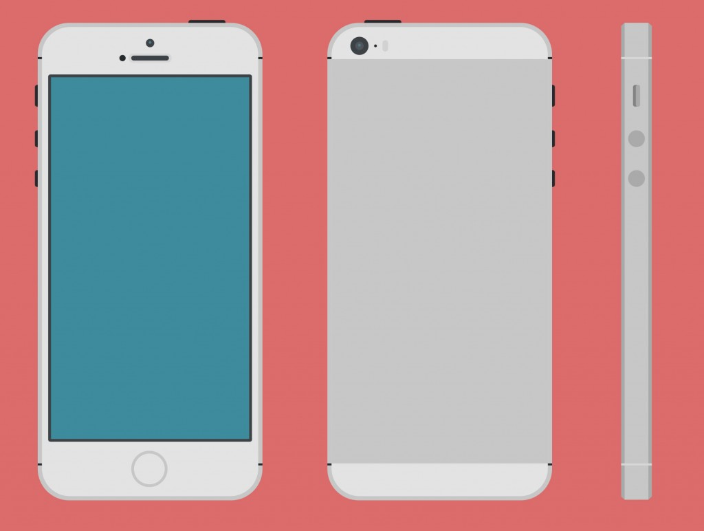 15 IPhone 5 Vector Template Images - iPhone 5 Template ...