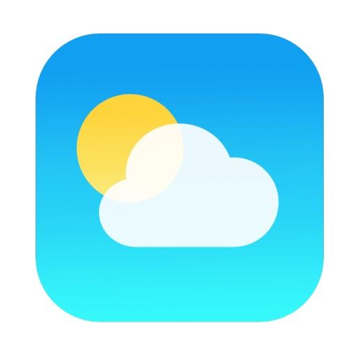 iPhone Weather App Icon