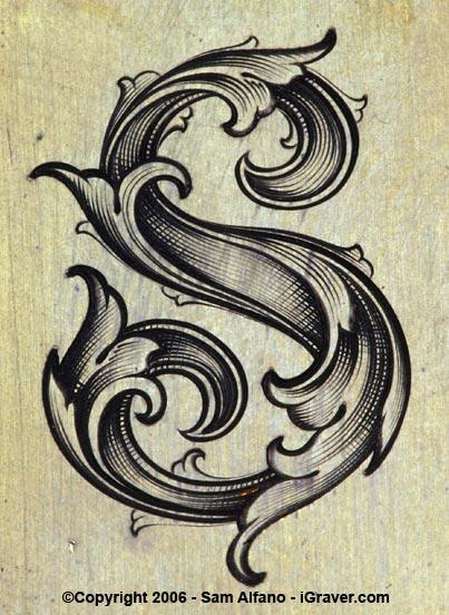 10 Leaf Script Font Images