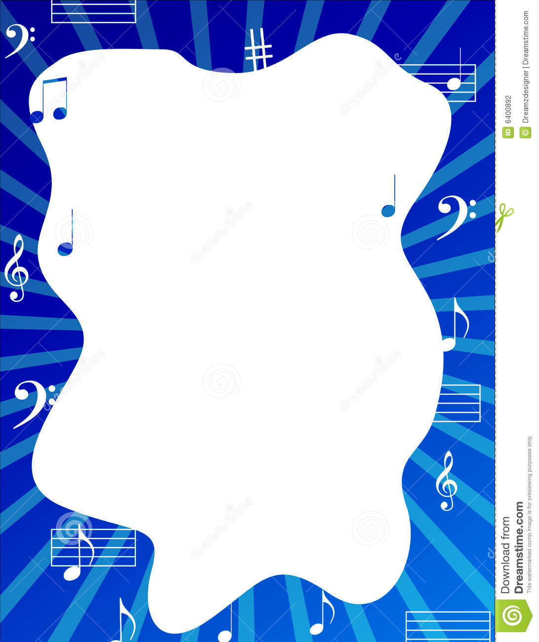 Music note frames