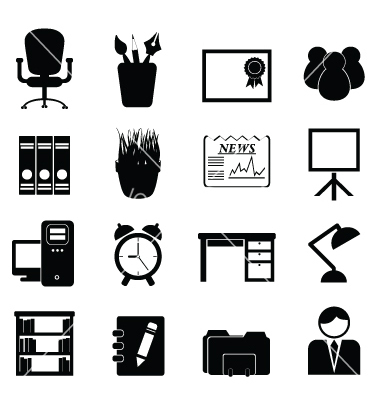 7 Office Room Icon Images