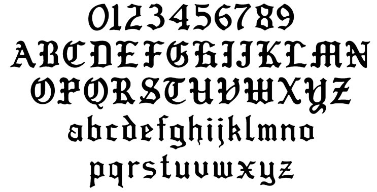 Download 13 Biker Font Styles Images - Biker Font Embroidery Design ...