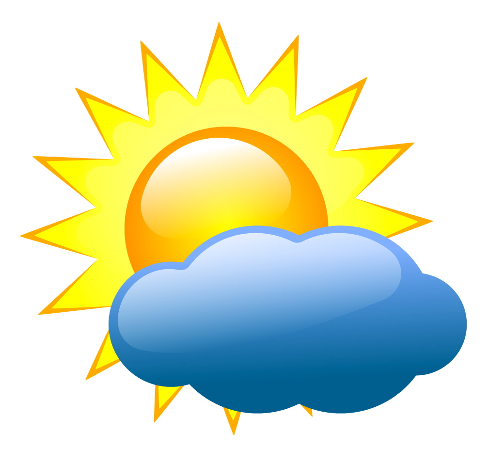 13 Weather Icons Clip Art Images