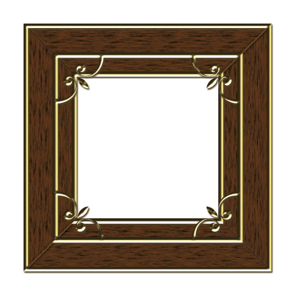 15 Free Photoshop Elements Frames Wooden Images