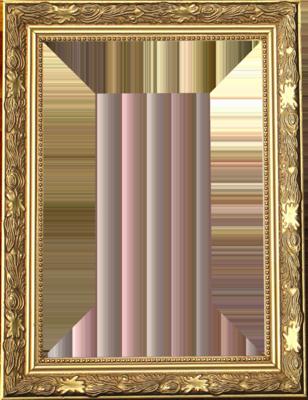 7 Gold Frame PSD Images