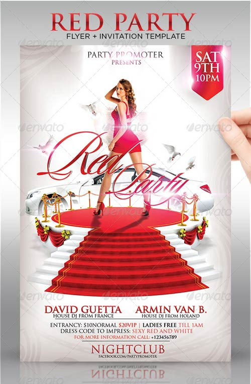 11 Free PSD Flyer Red Carpet Images Red Carpet Flyer