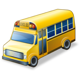 15 Free School Bus Icon Images