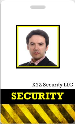 16 Security Badge Template Images