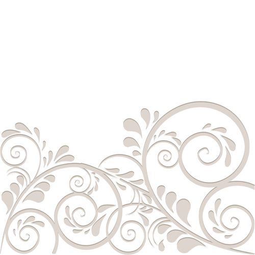 Simple Floral Ornament Vector