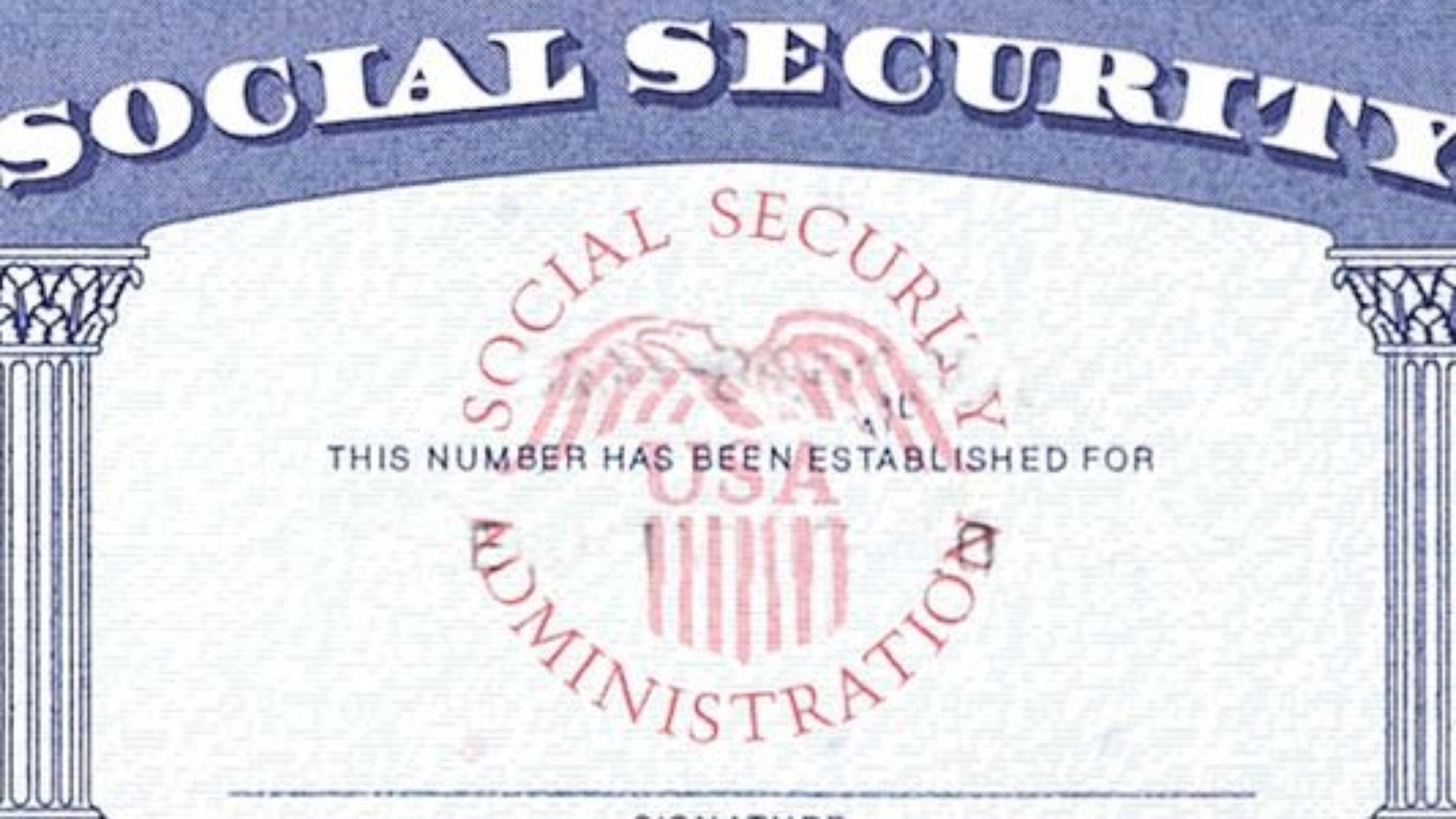 Social Security Card Template | 7 Social Security Card Template Psd Images Social Security Card