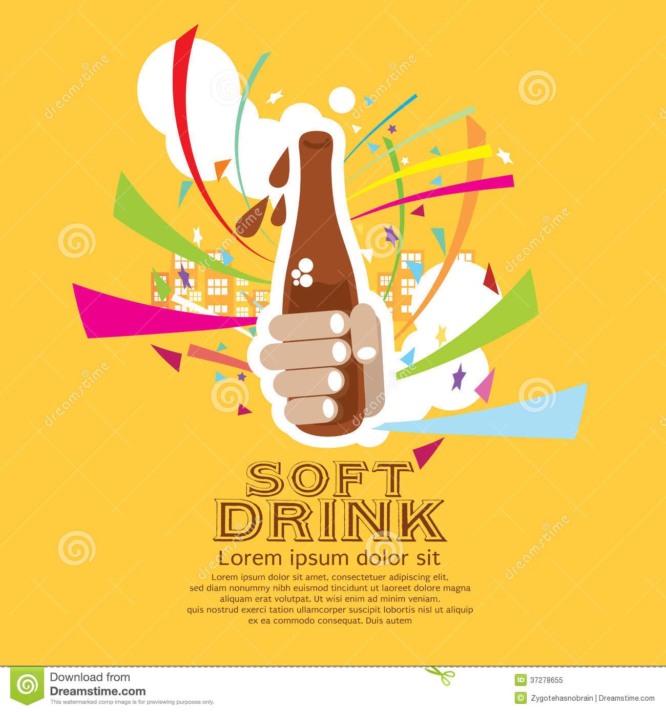Soft Drinks Illustrations