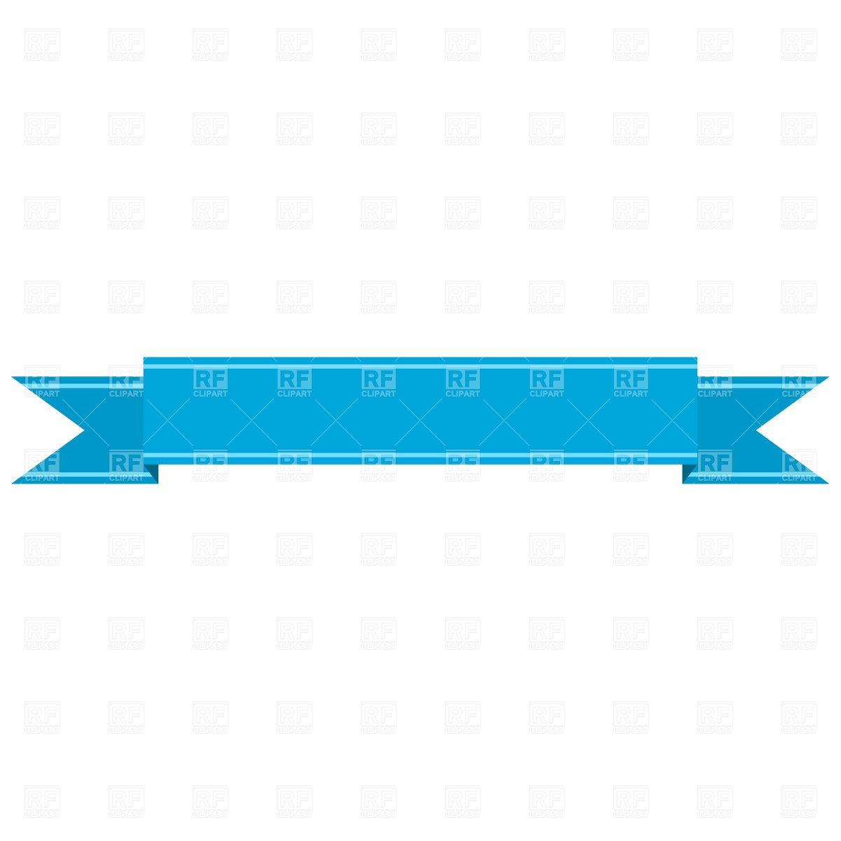 15 Blue Ribbon Banner Vector Free Images
