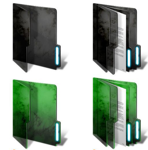 Transparent Windows Folder Icon