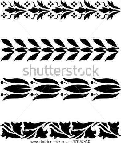 Vector Simple Ornaments