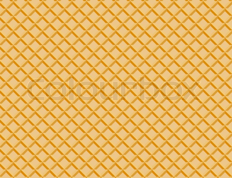 13 Waffle Pattern Vector Images Waffle Cone Pattern