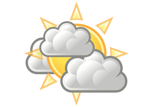 Weather Channel Partly Cloudy Icon
