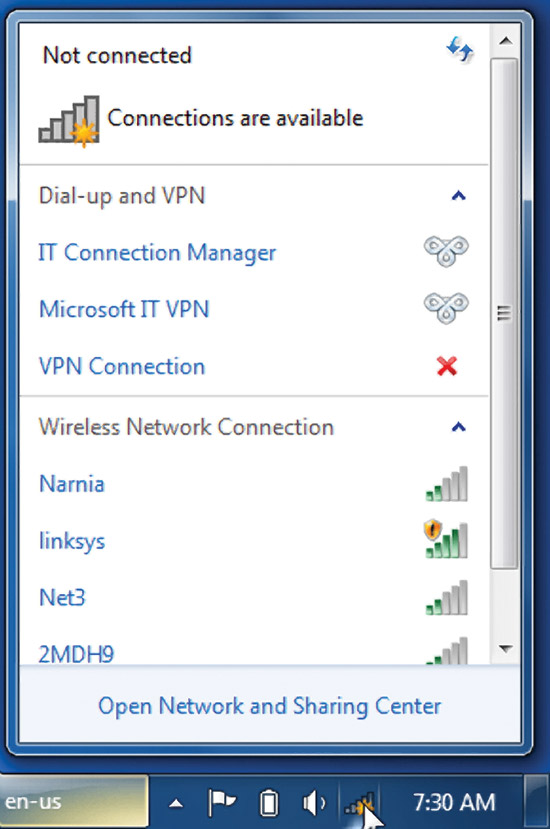 13 Windows 7 Wireless Network Icon Images