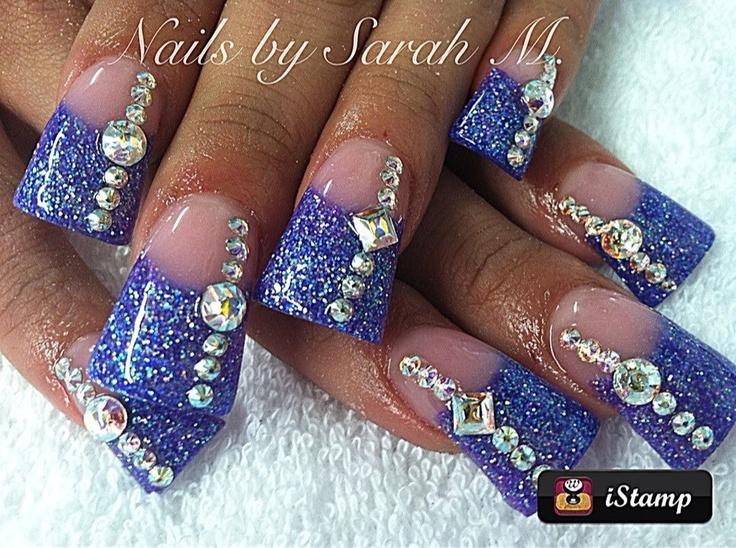 Bling acrylic nail designs gallery nail art and nail design ideas bling  acrylic nail designs image - Bling Acrylic Nail Designs Choice Image - Nail Art And Nail Design